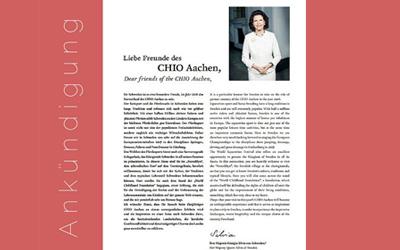 Ankündigung CHIO Aachen vom 08. – 17. Juli 2016