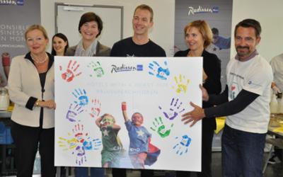 Carlson Rezidor Hotelgruppe unterstützt Childhood mit zwei tollen Events