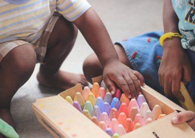 Förderung der Schulbildung von Roma-Kindern