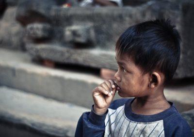 Verbesserung der Lebensumstände von gefährdeten Kindern