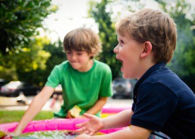 Betreuung von Kindern gefährdeter Familien