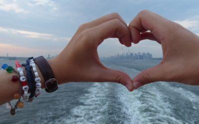 Childhood Armband auf Sommerreise
