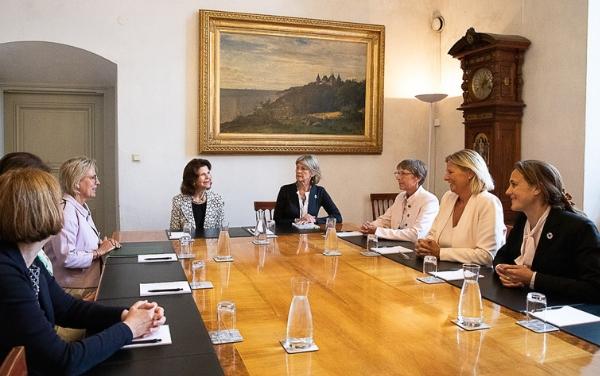 Sächsische Delegation besucht Barnahus